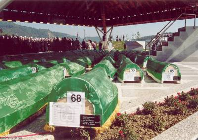 Bill Clinton in Srebrenica, Bosnien - Herzegowina